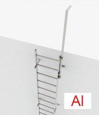 Crynoline Schachtleiter aus Aluminium