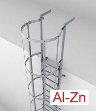 Crynoline DUO Stahl-Aluminiumleiter mit Rückenschutz