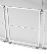 Покрівельні огородження (перила), що монтуються до підлоги чи даху