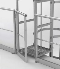 Bramka samozamykająca do balustrad