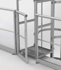 Дверцята автоматичні до модульних перил